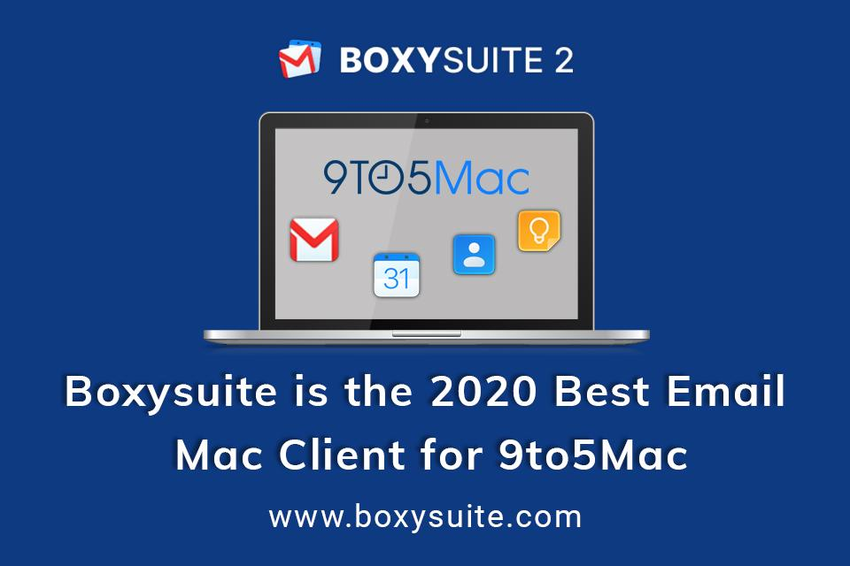 Best Email Client for 9to5Mac