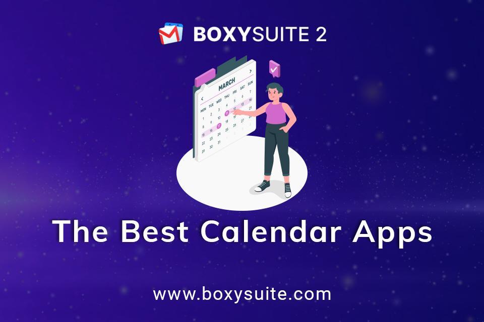 The Best Calendar Apps