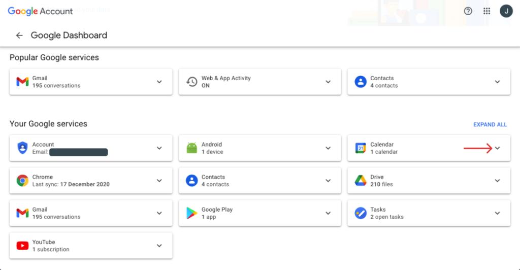backup google services