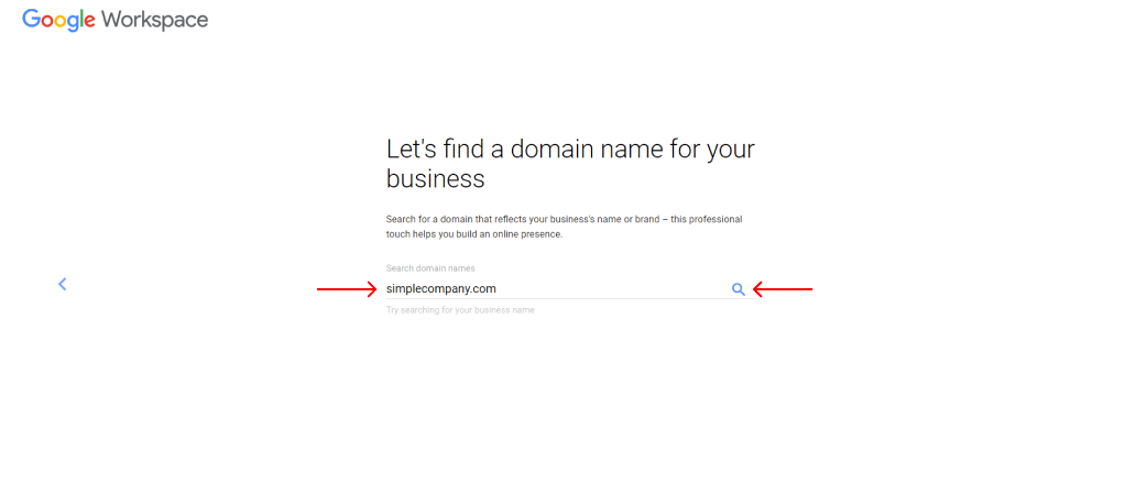 find domain