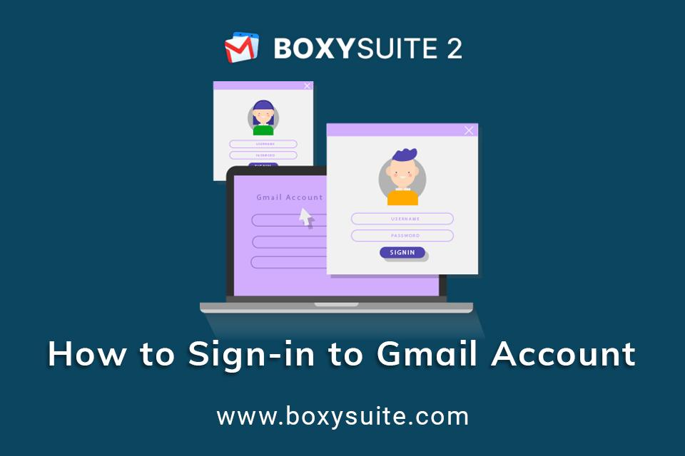 How to Sign in to Gmail