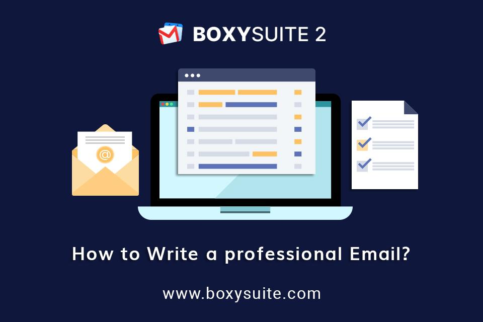 How to Write a Professional Email in Gmail?