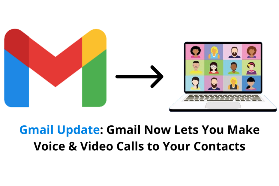 Gmail video call and voice call feature