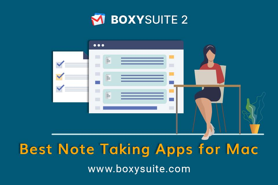 Best Note Taking Apps for Mac